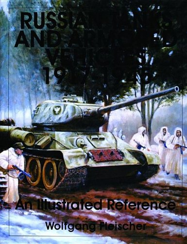 Russian Tanks and armored vehicles 1917 - 1945