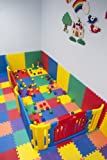 EWONDERWORLD 36 Piece Non-Toxic Foam Play Mat