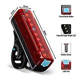 Thorfire Ultra Bright Bike Tail Light USB
