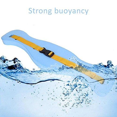 GOTOTOP Swim Floatation Belt, Adjustable Floating Belt Waistband Swimming Lumbar Support Tackle for Adult ()