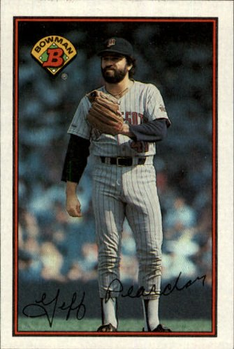 1989 Bowman Baseball Card #148 Jeff Reardon