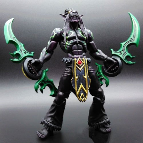 [Heroes of the Storm The Betrayer illidan Stormrage Action Toy Figure Doll New B#] (Bond Villains Costumes)