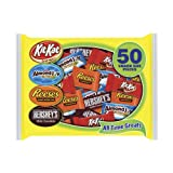 Hershey's All Time Greats Assortment, 50-Pieces, 28.6-Ounce Bag