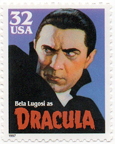 Belo Single - US Postage Stamp Single 1997 Classic Movie Monsters Issue Bela Lugosi Dracula 32 Cent Scott #3169