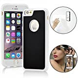 AIRY Anti Gravity Cover IPhone 7 / 6 / 6s Magical Nano Suction Holder Hands Free Car Mount Stick to Glass Whiteboards Tile and Any Surfaces Phone Case (Blue) 4.7 PRIME Sale Today