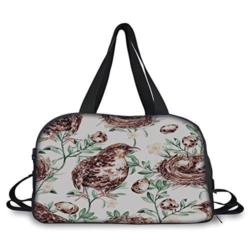 iPrint Travel handbag,Man Cave Decor,Craft Beer Wild Moose P