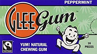 product image for Glee Gum Peppermint - Box of 12 (2 Pack)