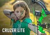 Bear Archery Cruzer Lite RTH Bow, Realtree Xtreme Green Camo, Left Hand