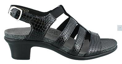 ef7d755046abdd SAS Women s Allegro Black Croc 6 WW - Double Wide (D) US