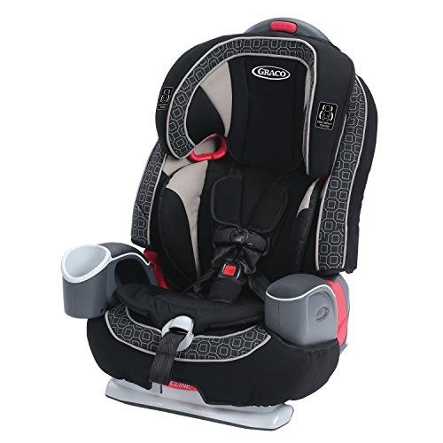 Graco Nautilus 65 LX 3-in-1 Harness Booster Car Seat, Pierce