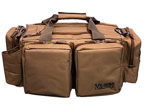 MidwayUSA AR-15 Tactical Range Bag Coyote (Ar15 Range Bag compare prices)