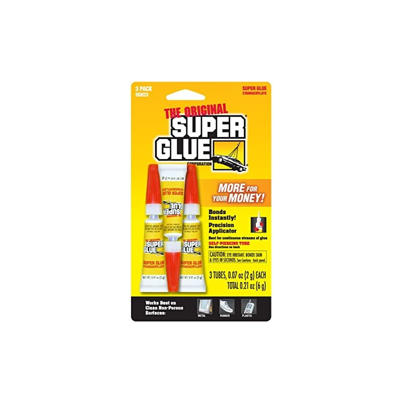 The Original Super Glue - 3 QTY - .07oz
