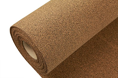 IncStores AcoustiCORK R12 Underlayment - Rubber/Cork Subfloor Ideal for Ceramic, Hardwoods, LVT, Bamboo, Laminate & Cork (Cork Tile Underlayment)