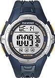 Timex Marathon T5K355 - Reloj de caballero de cuarzo, correa de resina color azul oscuro (con luz, cronómetro, alarma)