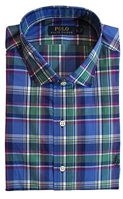 Polo Ralph Lauren Men's Standard-Fit Plaid Poplin Sport Shirt