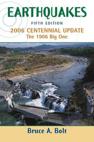 Earthquakes 2006 Centennial Update