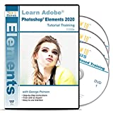 Adobe Photoshop Elements 2020 Training 3 DVDs Over 19 Hours in 240 Software Tutorials with Easy to Follow Videos plus Tips and Tricks for Windows