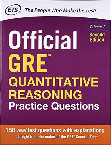 amazon official gre quantitative reasoning practice questions