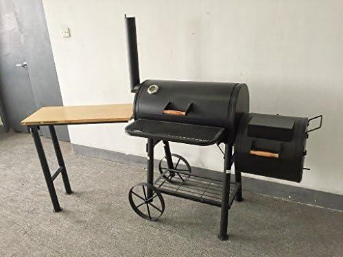 ABD) Texas – kiug® de XXL Ahumador con mesa auxiliar Barbacoa de ...