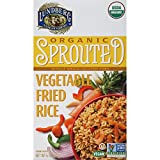 Lundberg Family Farms Organic Sprouted Fried Rice, Vegetable, 6 Ounce (Pack of 6)