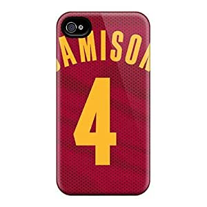 Cute PC CaterolineWramight Cleveland Cavaliers Cases Covers For Iphone 4/4S Case Cover