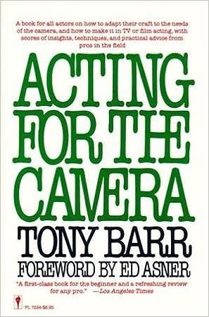 Gratis epub ibooks download Acting for the Camera på Dansk PDF RTF by Tony Barr