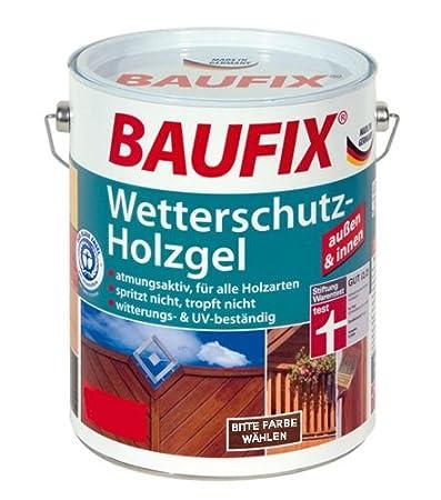 Baufix - Gel para madera - protección contra intemperie 2,5 L - roble claro: Amazon.es: Bricolaje y herramientas