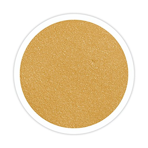 Sandsational Gold Shimmer Unity Sand~1.5 lbs (22 oz), Gold Colored Sand for Weddings, Vase Filler, Home Décor, Craft Sand
