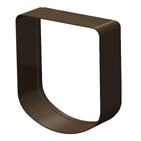 Ferplast Extensión para Puerta para Perros pequeños y Gatos, Gatera, Puerta basculante Swing 3 y 5 Extension, 16,3 x 5 xh 18,4 cm - Profundidad 5 cm, ...