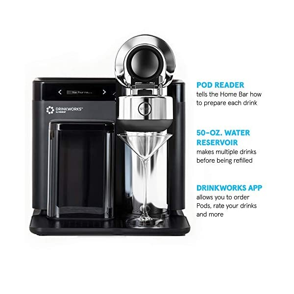 Drinkworks Home Bar by Keurig: Cocktails, Brews, Wines and More 6