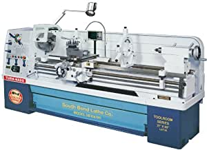 South Bend SB1047PF Gearhead Lathe with DRO, 21-Inch by 80-Inch
