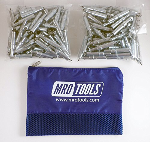 200 3/32 Cleco Sheet Metal Fasteners w/ Mesh Carry Bag (K2S200-3/32) by MRO Tools Cleco Fasteners