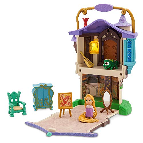 Disney Animators' Littles Rapunzel Surprise Feature Playset - Tangled No Color (Mini Collection Tower)
