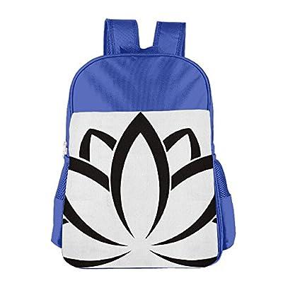 50off Lotus Flower Buddhist Symbol School Backpack Children