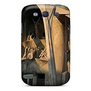 Awesome Design Photography Architecture Sagrada Familia Of Antoni Gaudi 6 Hard Case Cover For Galaxy S3