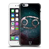 Head Case Designs Cancer Nebula Zodiac Symbols Protective Snap-on Hard Back Case Cover for Apple iPhone 6 4.7
