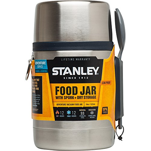 Stanley Adventure Vacuum Food Jar, Stainless Steel, 18 oz