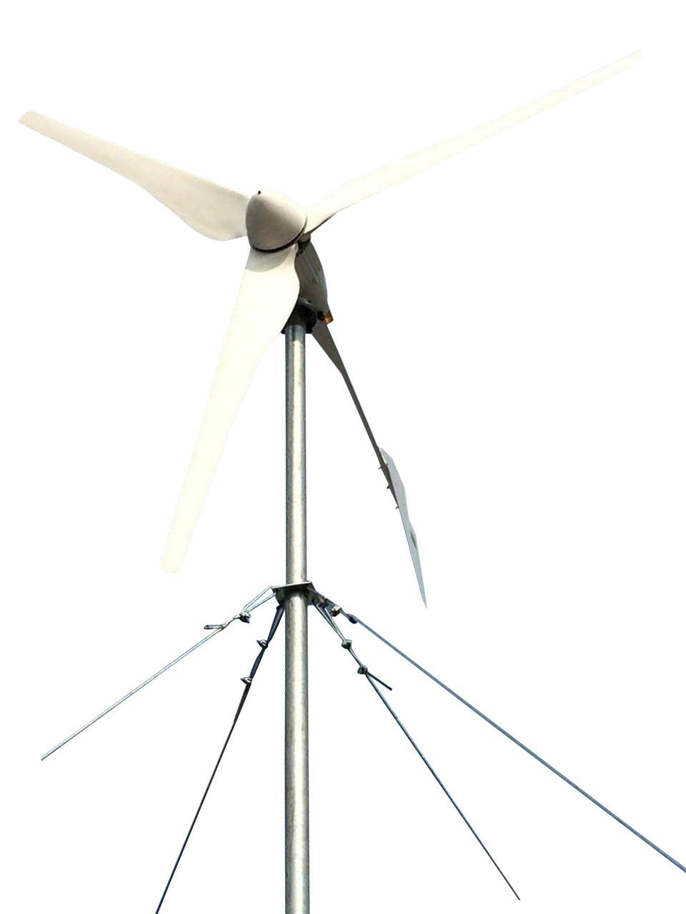 Tumo Int 2000w 3 Blades Furled Tail Wind Turbine Dumpload Charge Controller Generator With And Solar Hybrid 48v Garden Outdoor