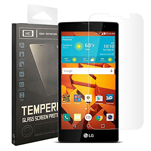 Tempered Glass For LG Magna (Clear) - 7