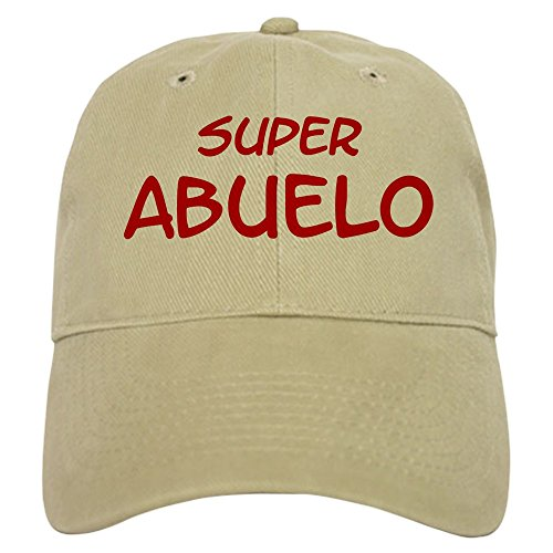 CafePress - Super Abuelo Cap - Baseball Cap with Adjustable Closure, Unique Printed Baseball Hat