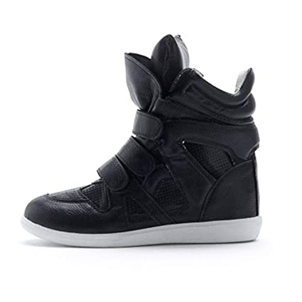 02a78e81feae3 Amazon.com: ASO-SLING Women's High Heels Wedge Sneakers Platform ...
