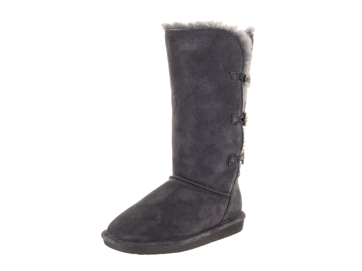 BEARPAW Women's Lauren Tall Winter Boot B00LT1VJNQ 9 B(M) US|Charcoal