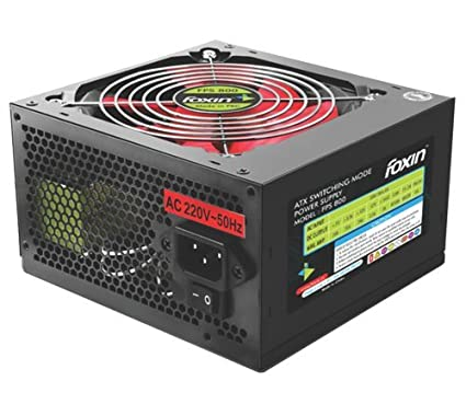 Amazon.in: Buy Tfpro Foxin FPS 800 12 volt DC SMPS Power supply ...