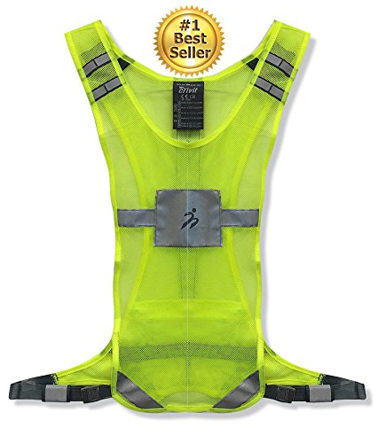 360 USA - Reflective Cycling Vest - Neon Yellow