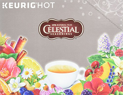Celestial Seasonings English Breakfast Black Tea, K-Cup Portion Pack for Keurig K-Cup Brewers, 24-Count