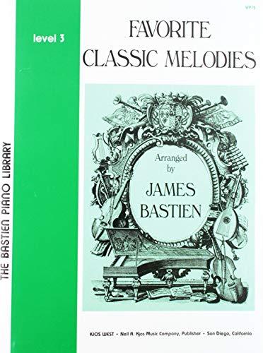 - WP75 - Favorite Classic Melodies - Level 3 - Bastien