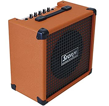 Harley Storm SG20OR Amplificador de guitarra Electrica Color Naranja