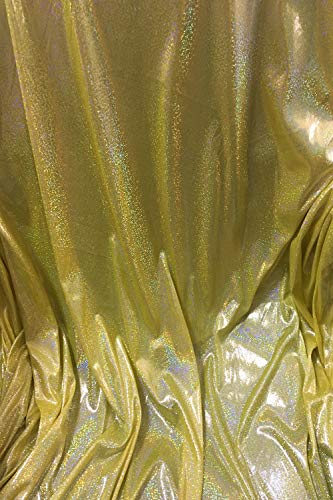 FUERMOR Yellow Sequin Backdrop 5x7ft Photography Background Photo Booth Props for Birthday Wedding Makeup Videos Shooting FUTJ007