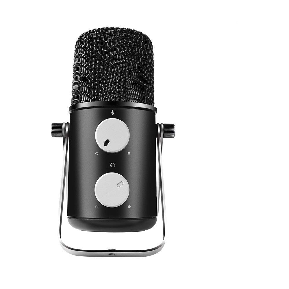 MAONO AU-902 Fairy USB Condenser Microphone with Echo, Volume Control, Pattern Adjustable for Youtube Recording, Podcast, Gaming, Vocal Mic