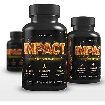 Amazon.com: Nitric Oxide Supplement with L-Arginine & L